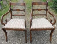 Set of Eight Dining Chairs by Rackstraw